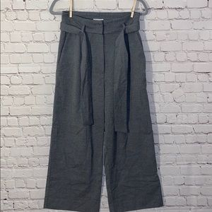 H&M Wide Leg Grey Trouser